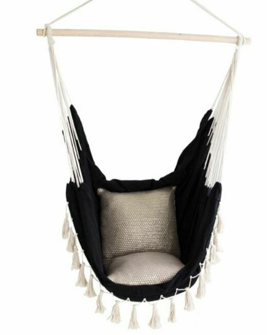 ID006 Black Hammock Chair