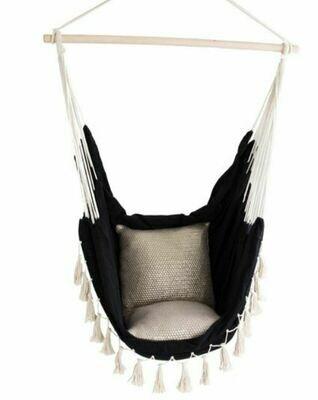 ID006 Black Hammock Chair
