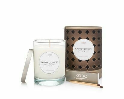 KO009 Kyoto Quince Candle