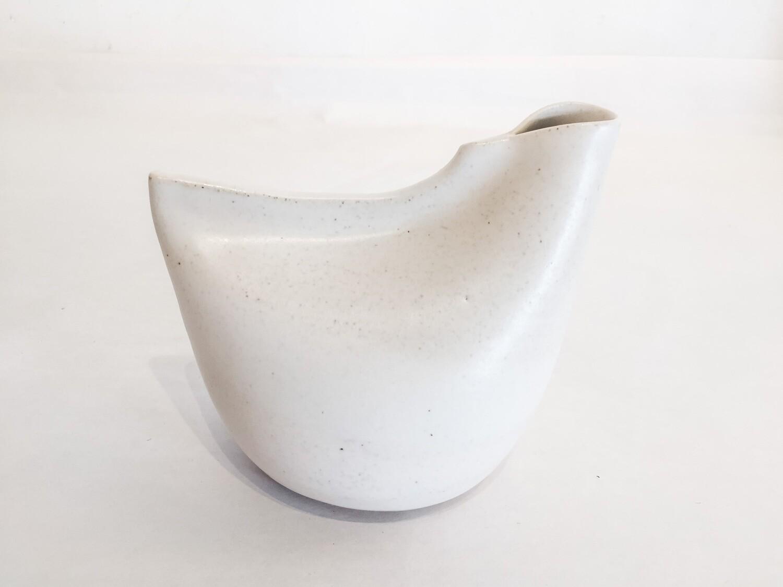 ES012 Bird Vase - Small- White
