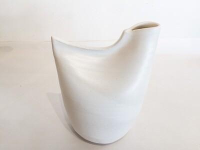 ES014 Bird Vase - Large - White