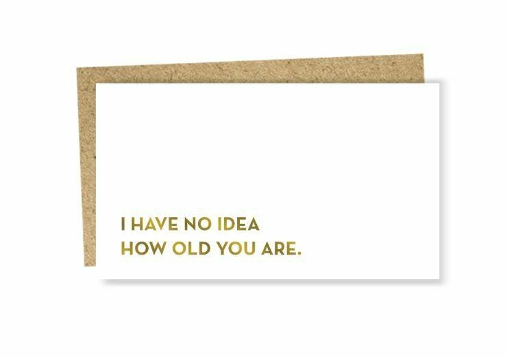 SG086 No Idea Mini Card