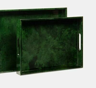 LM039 Green Resin Tray/Platter