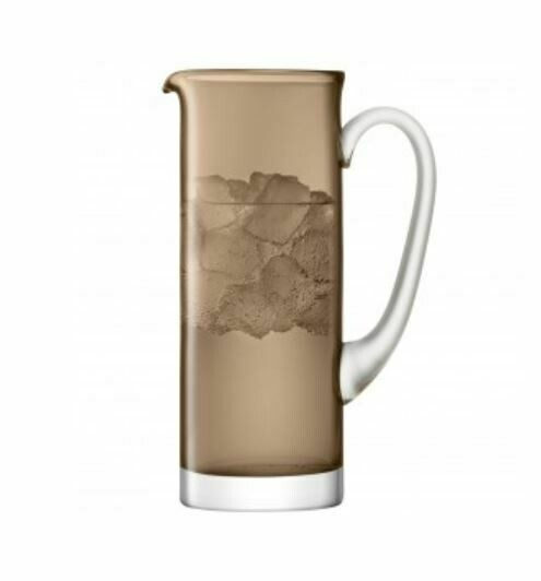 LS040 Mocha Glass Pitcher