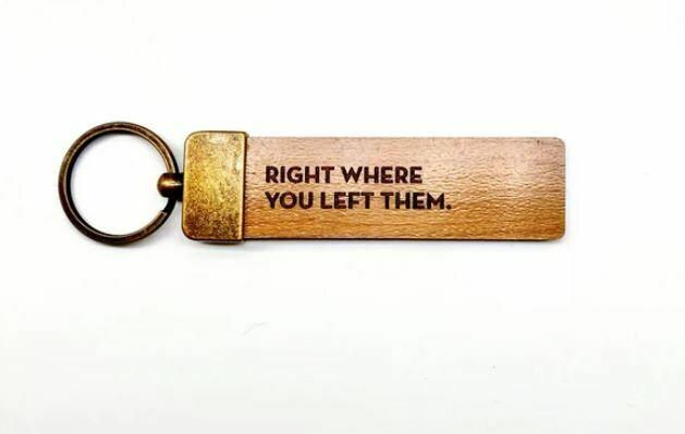 SG082 Left Them Key Tag