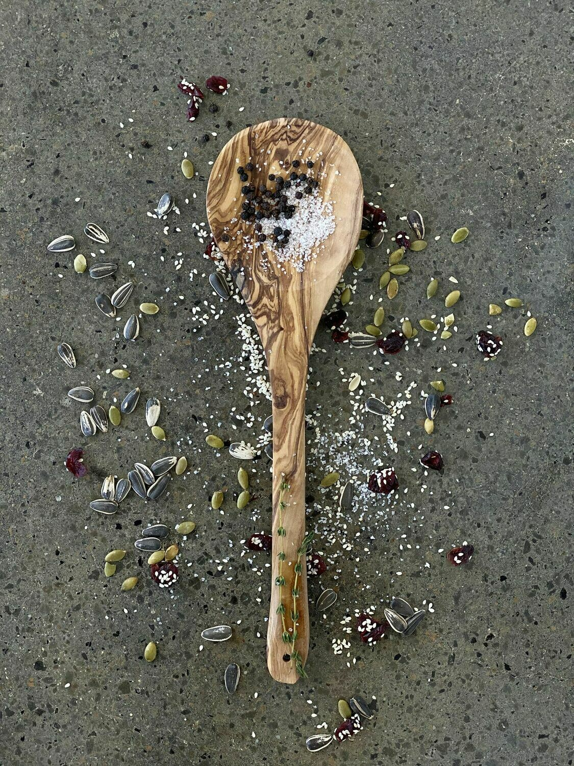 SL044 Olive Wood Spoon - Large