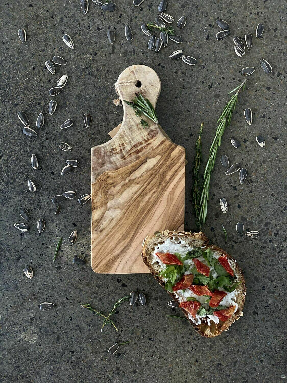 "SL042 Olive Wood Board 9"""