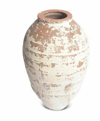 GO004S White Turkish Pot - Small