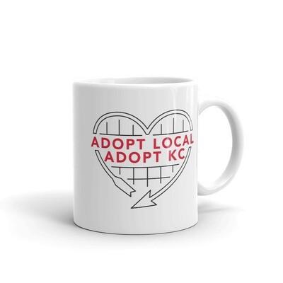 KCPP - Adopt Local Adopt KC - White Mug