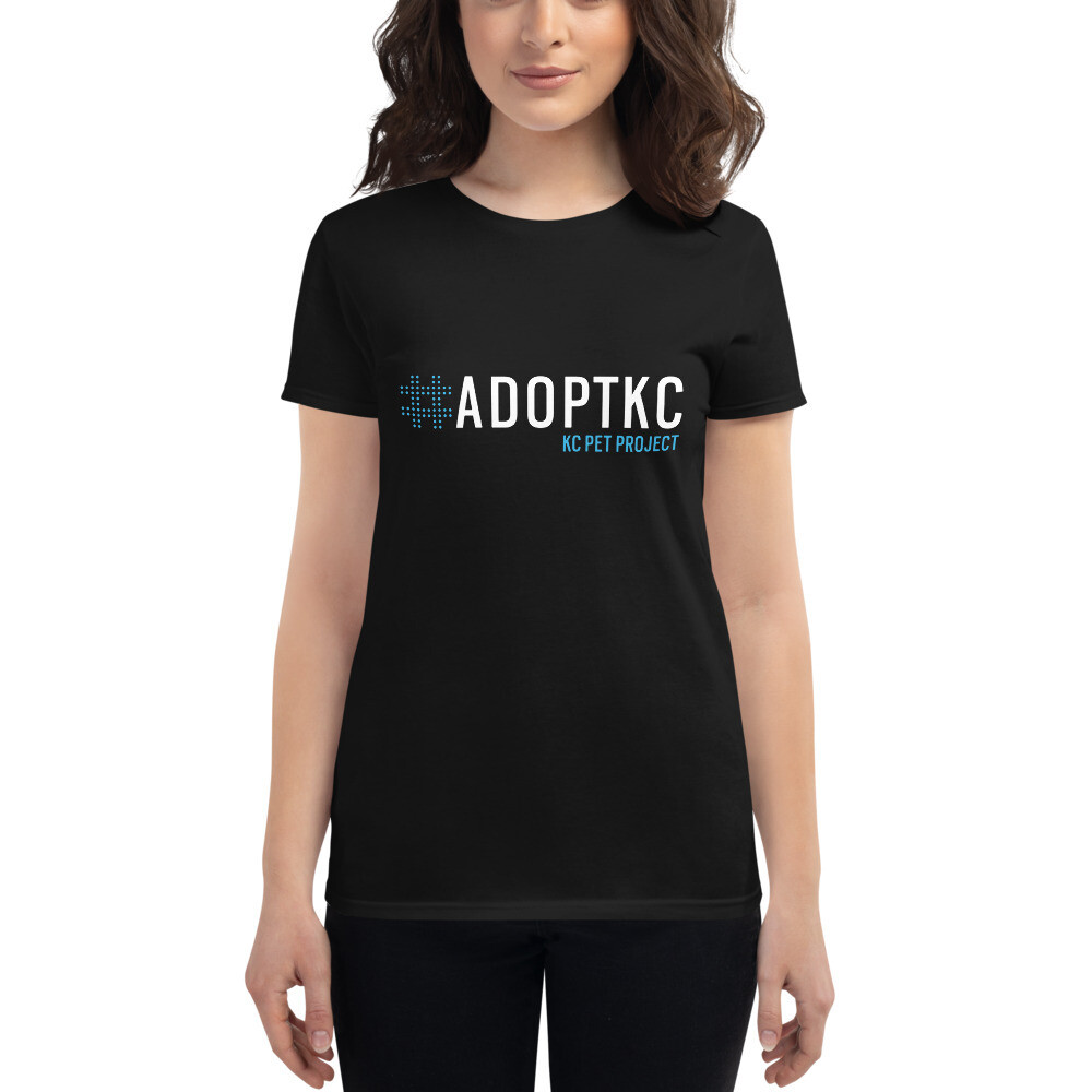 KCPP - #AdoptKC - Women's Cut - Dark
