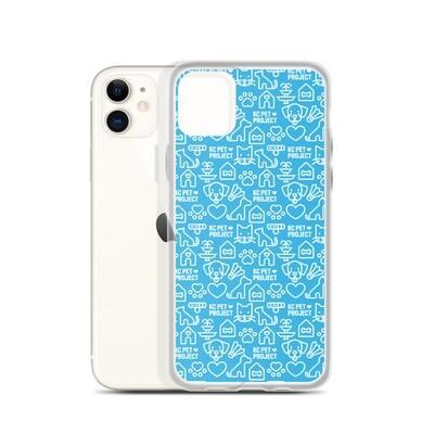 KC Pet Project - Cyan iPhone Case