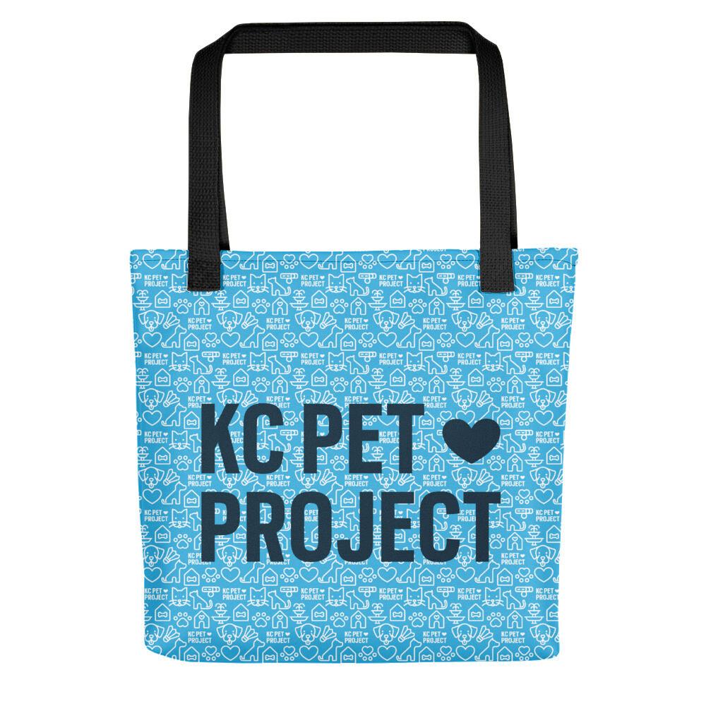 KC Pet Project - Tote Bag - Cyan