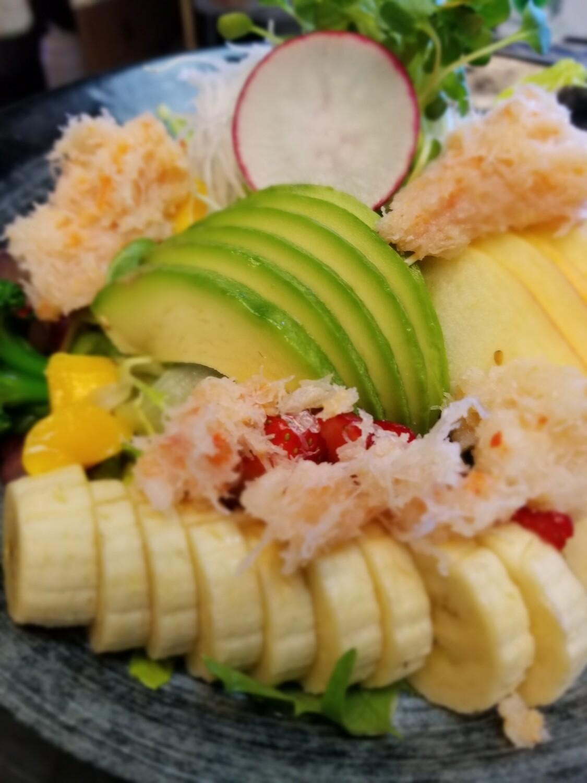 Real Crab Salad