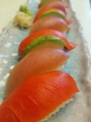 Tuna & Sockeye Nigiri Combo