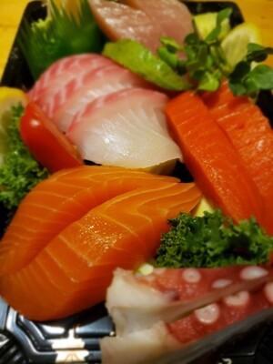 Assorted Sashimi (10pcs)