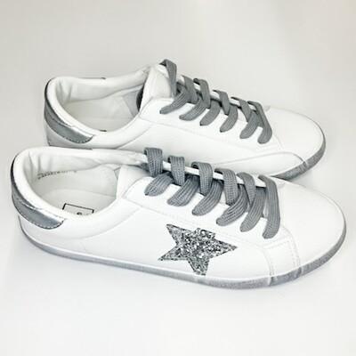 Shu Shop Silver Star Sneaker