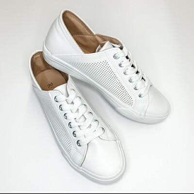 Restricted White Sneaker