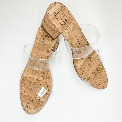 Shu Shop Cork Heal Clear Sandal