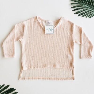 Sadie and Sage Pink Lightweight Sweater