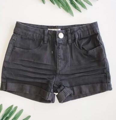 Dex Black Shorts
