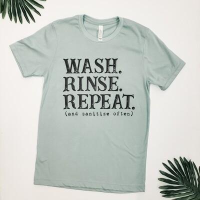Sage Green Wash. Rinse. Repeat. T-Shirt
