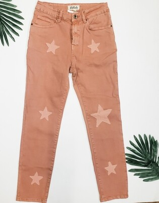 Listicle Pink Star Jeans