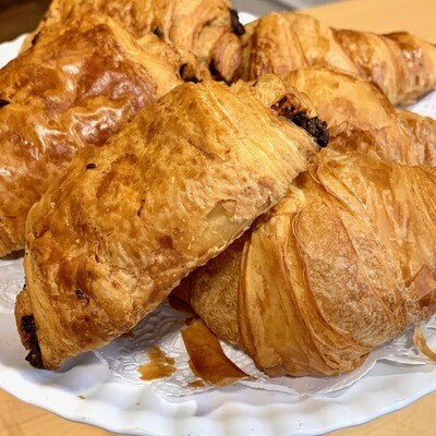 Croissants / 2 butter 2 chocolate