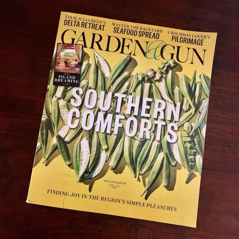 Garden & Gun / Southern Comforts issue