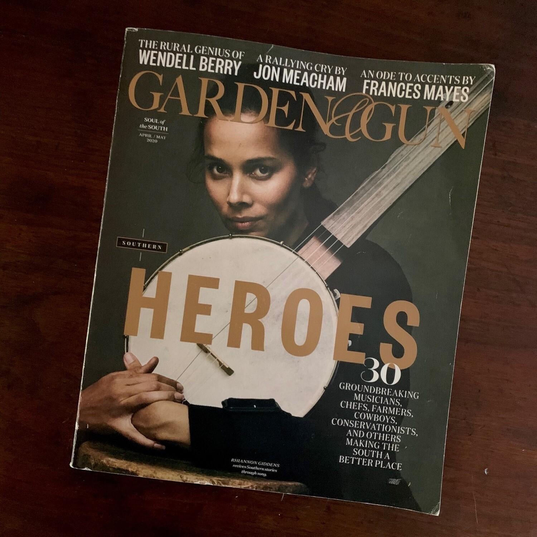 Garden & Gun / Heroes issue