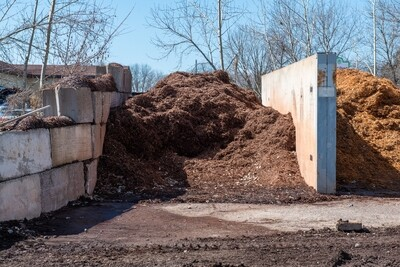 BULK - Brown Mulch