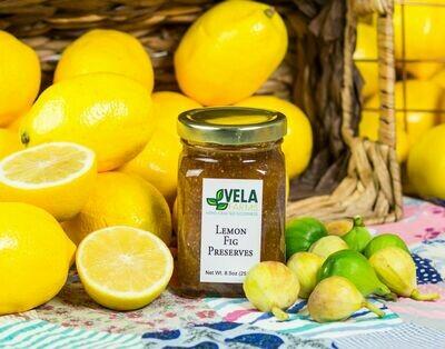 Lemon Fig Preserves