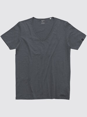 Switcher slub V-T-shirt
