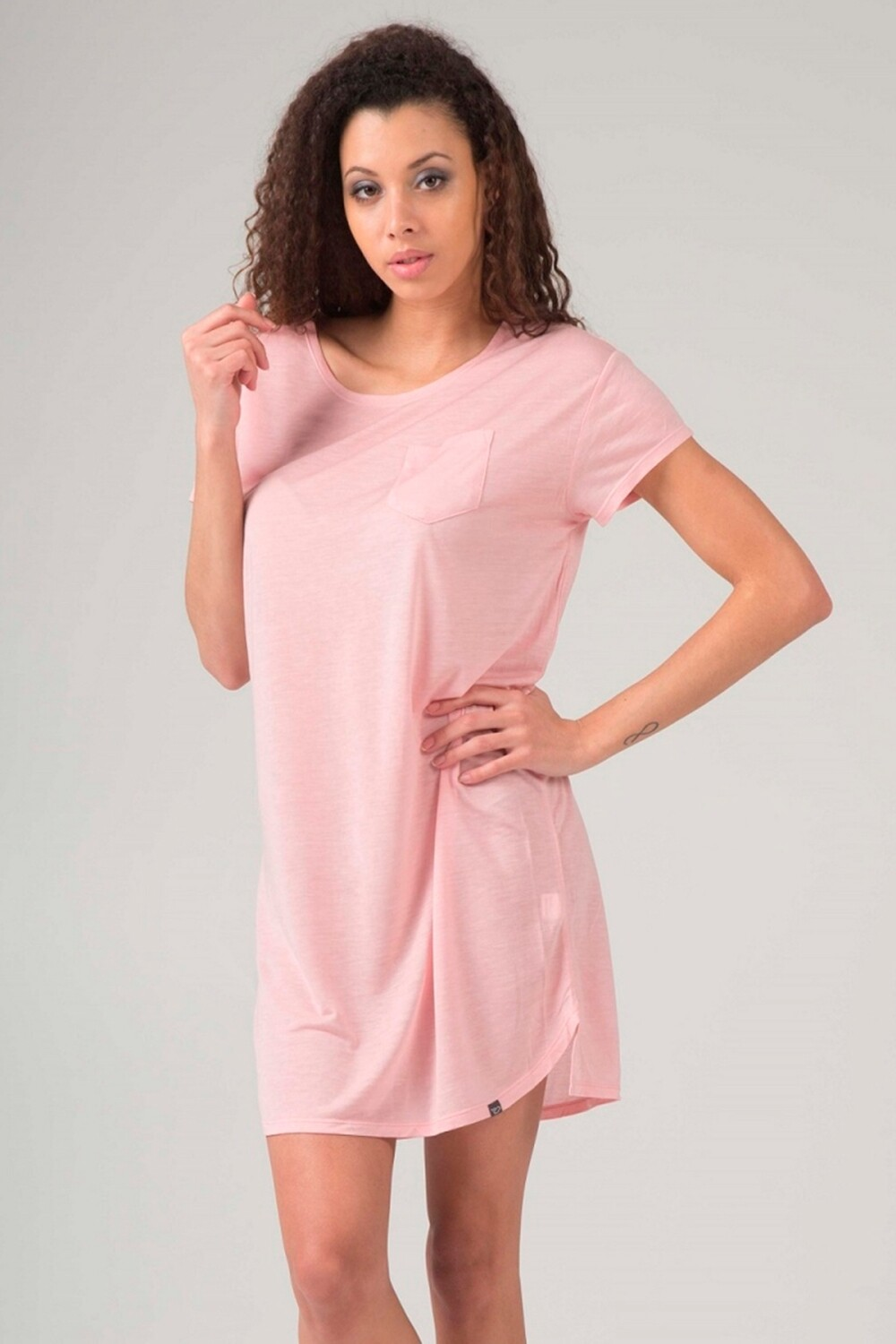 Fine ladies t-shirt dress Switcher