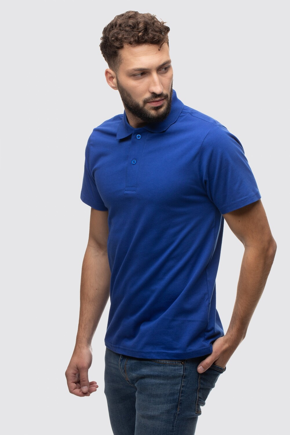 Classic short-sleeved polo shirt Jersey Harry
