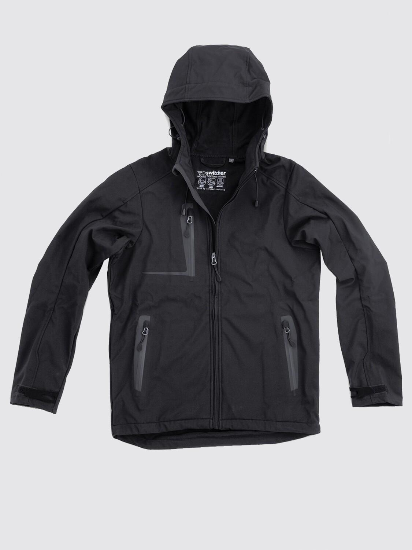 Switcher men hooded softshell jacket Combin