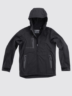 Switcher men hooded softshell jacket Combin