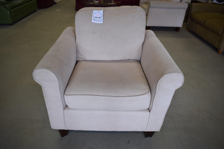 Tan Armchair (A)