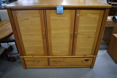 Two-Piece Cabinet