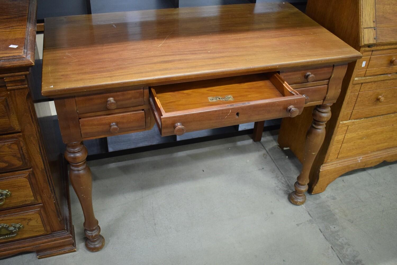 Solid Mahogany Desk