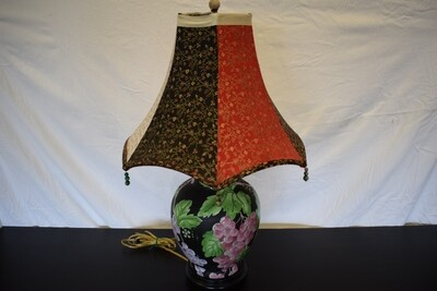 Grape Vine Lamp