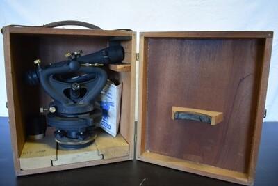 Vintage Contractor's Transit Level with Optical Plummet