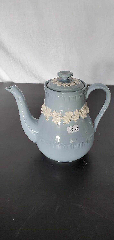 Blue Wedgwood Coffeepot w/ Lid