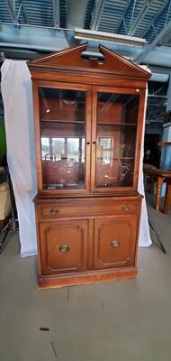 Glass Door Hutch