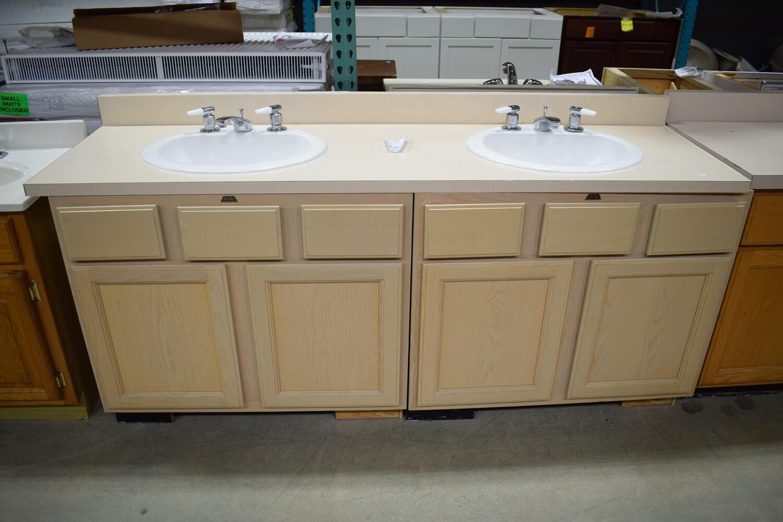 """72"""" Double Sink Vanity"""