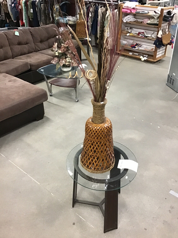 Wicker Floral Arrangement