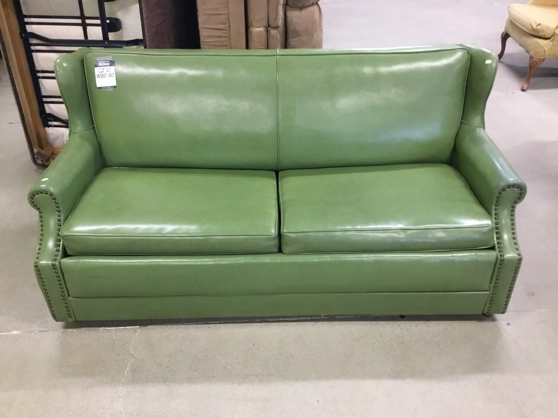 Vintage Green Sleeper Sofa