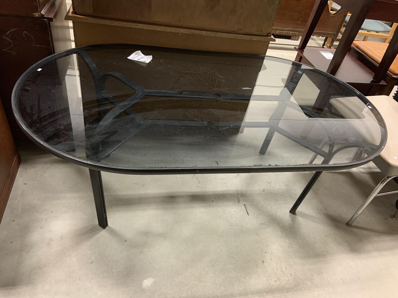 Black Outdoor/ Patio Table