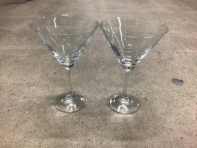 Martini Glasses Set