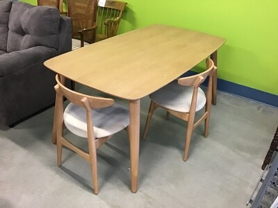 Mid-century modern table set