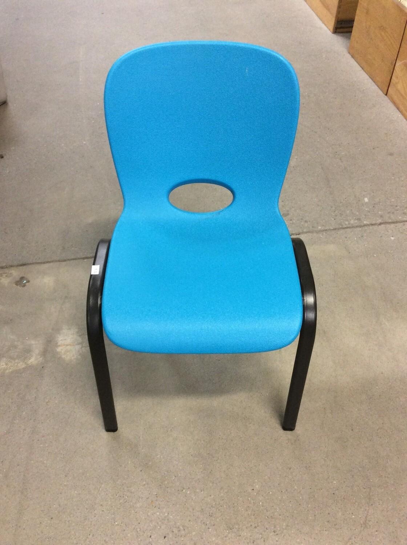 Blue kids chair
